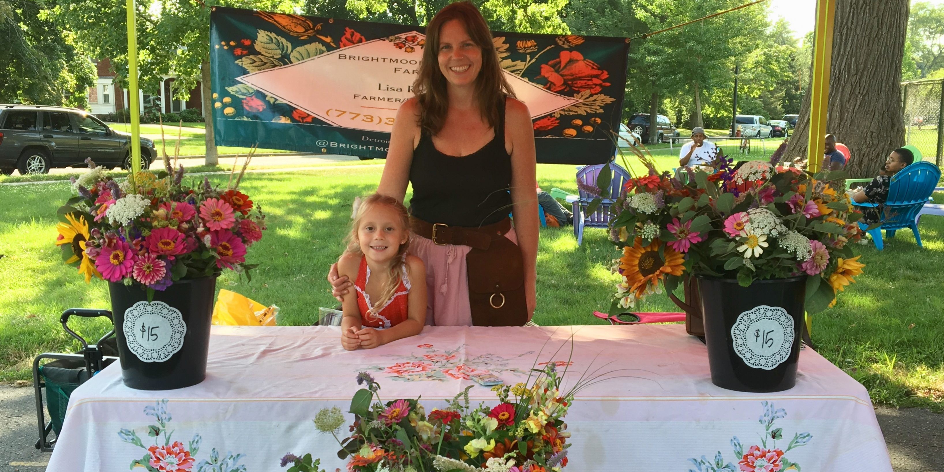 Brightmoor Flower Farm And Its Owner Lisa Rivera Favorites At The
